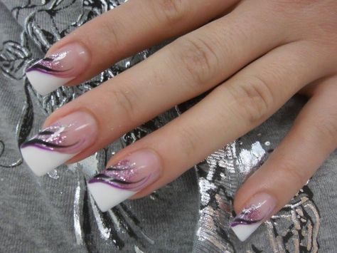 Nageldesign von purple