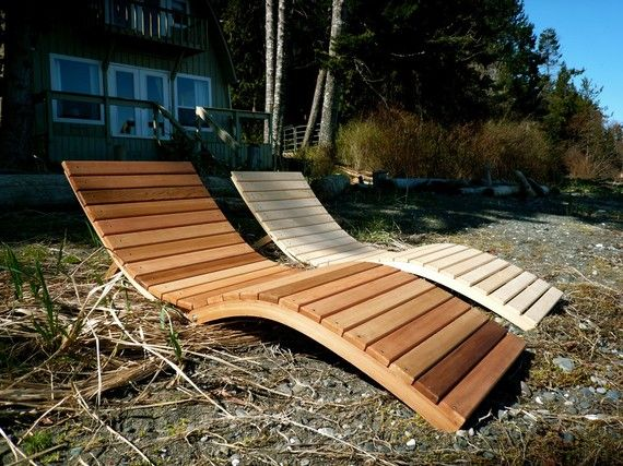 Foldable S Lounger by BENTwoodwork on Etsy, Vancouver Island Etsy Team Member