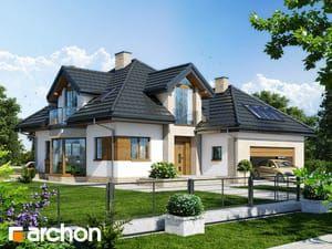 Projekt Domu Jednorodzinnego Dom Pod Wiązowcem N Ver2 W 2019