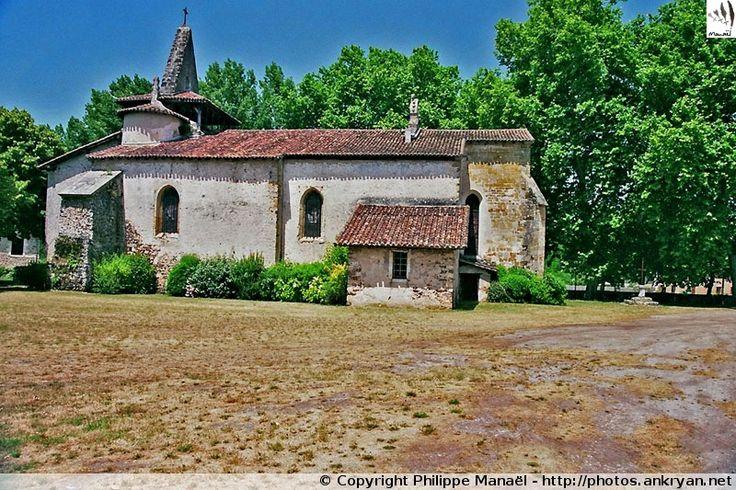 Église Saint-Martin de Moustey (Aquitaine, Landes)