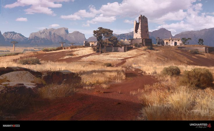ArtStation - Uncharted 4 - Madagascar Plains, Nick Gindraux