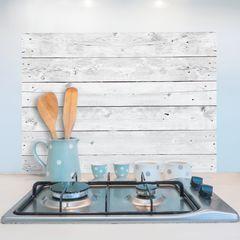 Decorazione-Sticker Kitchen Pannel grey wood-35902790