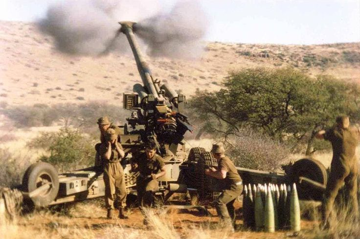 -SADF  G5 cannon - not one was ever found during their entire deployment - good shells with low signature smoke, dropping noses when Migs were around and all around discipline