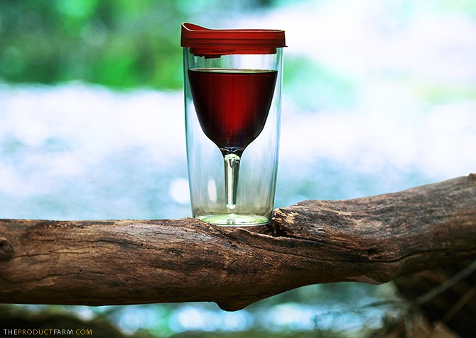 Vino2go | Enjoy your favorite wine in the elements of it's own existence #Vino2Go #winesippycup For more visit: store.theproductfarm.com @Matty Chuah Product Farm