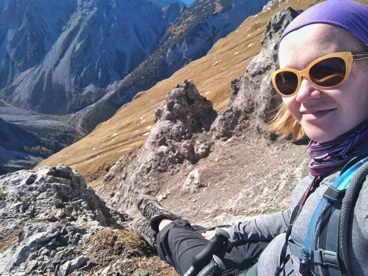 Indian summer in the mountains  . #natureknowsbest #indiansummer #terazwgórach #naszlaku #instanature #naturescape #alpakamybags #mountains #hiking #alps #tirol #at #happiness #stillsummer
