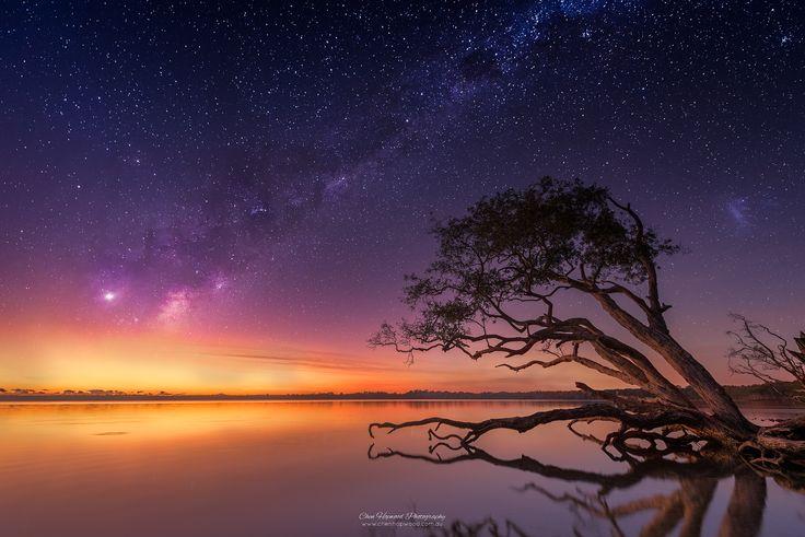 Milky Way into Sunrise