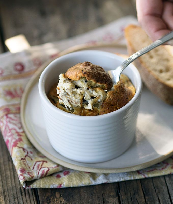 Black Truffle & Parmesan Souffles