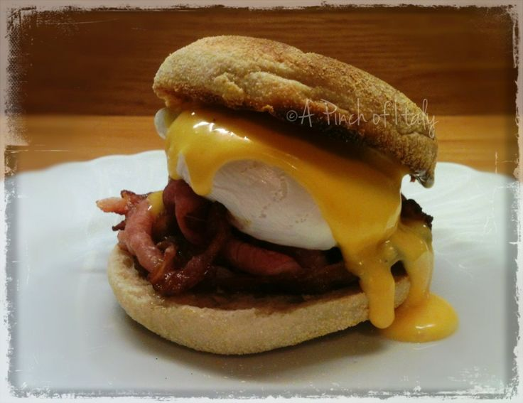 Egg Benedict, a Pinch of Italy