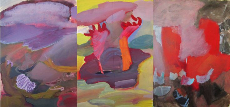 triptych composition