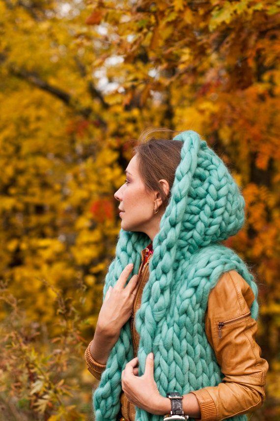 Chunky knit sweater vest. Chunky yarn от MoroshkaByVingil на Etsy
