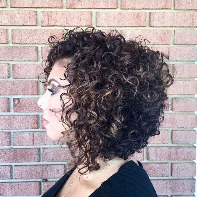 a line haircuts for curly hair trends get inspired by these curly looks 2933