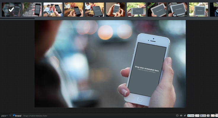 PlaceIt by Breezi - Generate Product Screenshots in Realistic Environments  http://placeit.breezi.com/