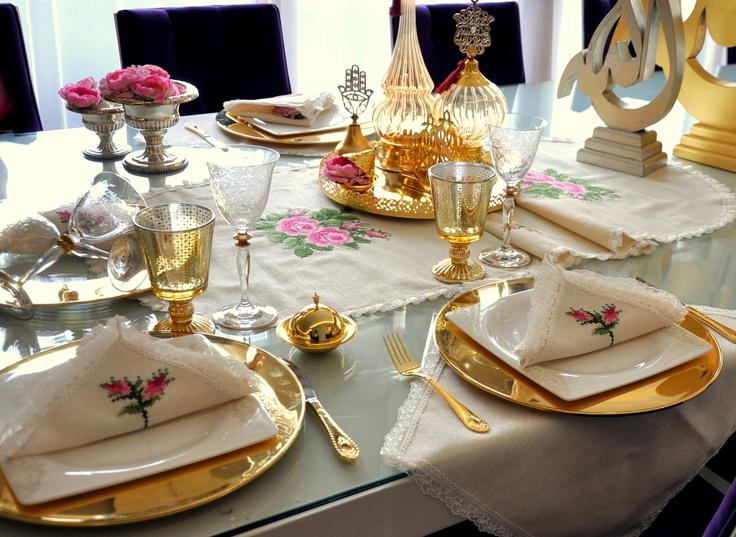 #guest #tableware #sofra #misafir #masa #tablecloth #OttomanDesignbyNV