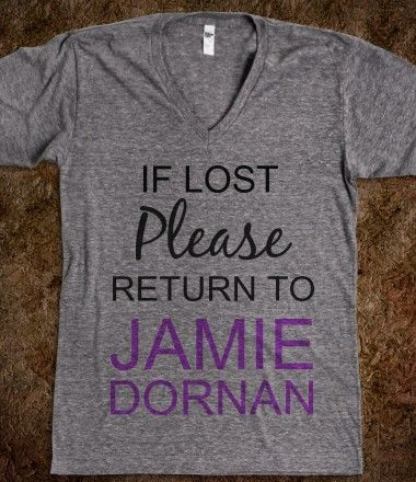 If Lost Please Return To Jamie Dornan