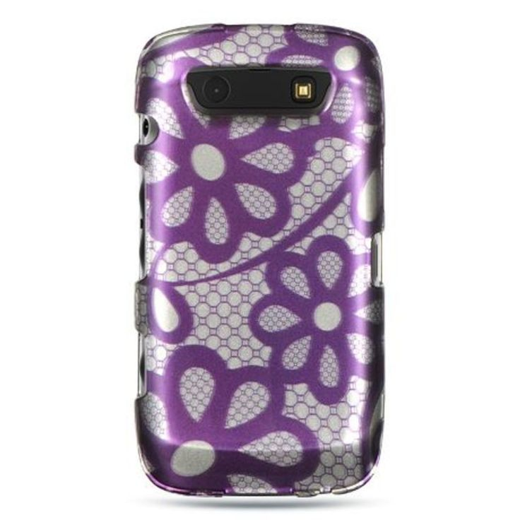 Insten / White Hard Snap-on Rubberized Matte Case Cover For BlackBerry Torch 9850/ 9860 #2291979