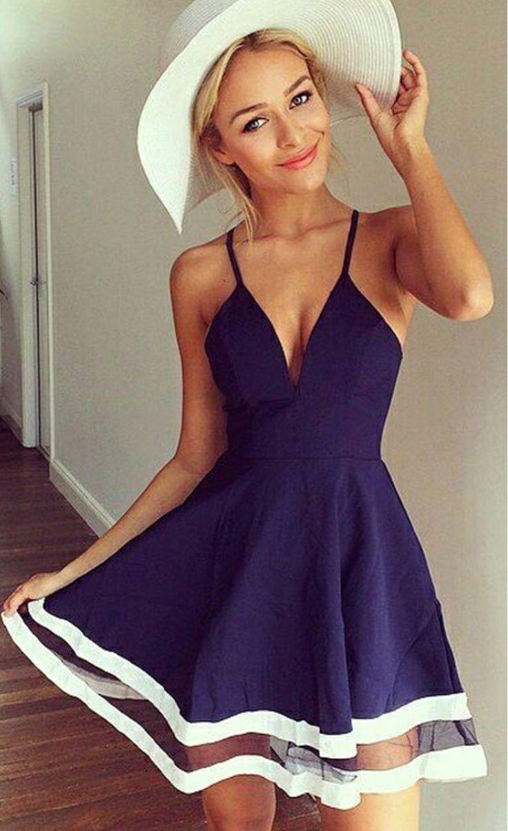 Mesh Chiffon Stitching Short Mini Dress - Stella La Moda