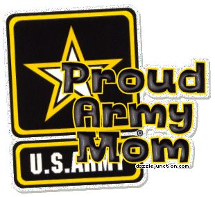 Military Proud Army Mom Comment Graphic: Picture, Image