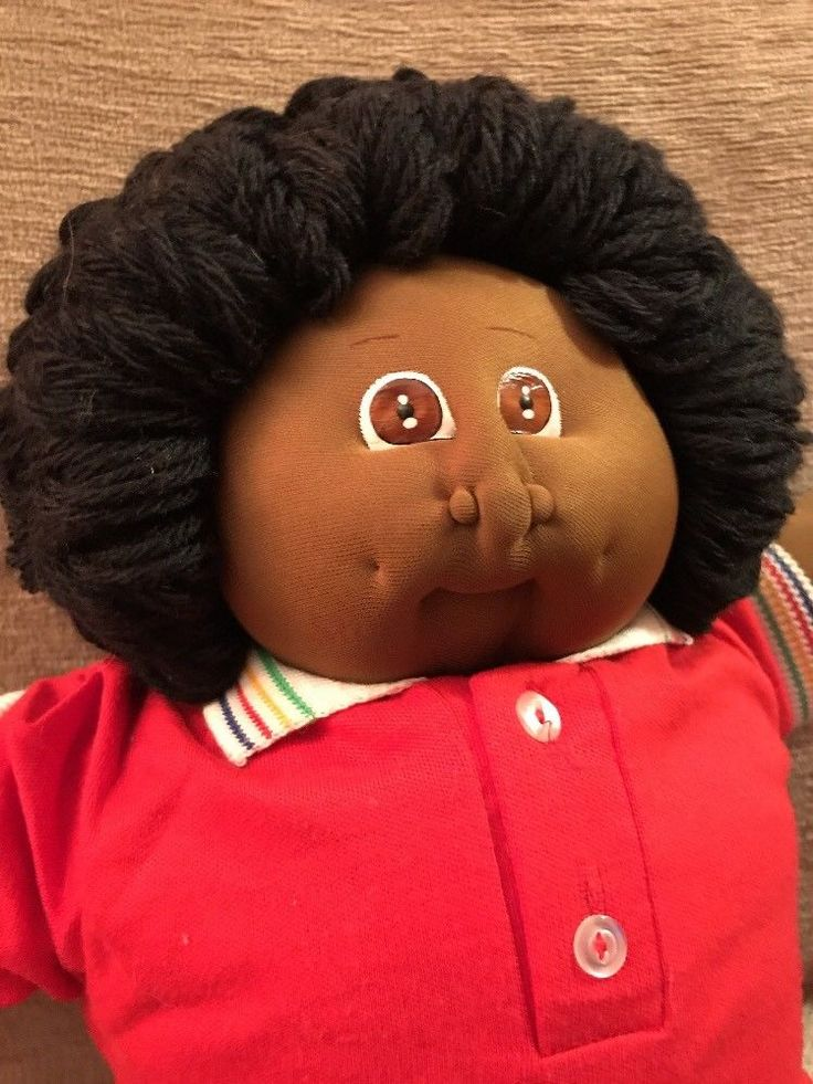 "1984 Soft Sculpture 21"" Cabbage Patch Xavier Roberts Double Signed Edwin Otis"