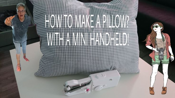 WHAT CAN YOU MAKE WITH A HANDHELD SEWING MACHINE