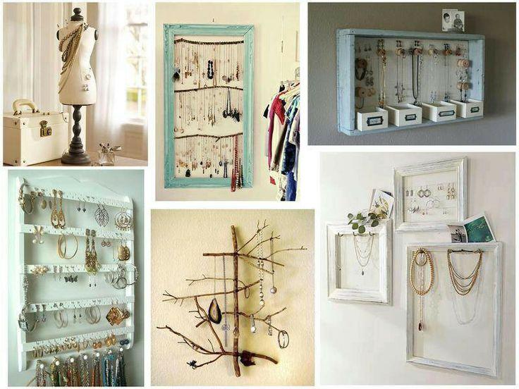 schmuckaufbewahrung diy pinterest. Black Bedroom Furniture Sets. Home Design Ideas