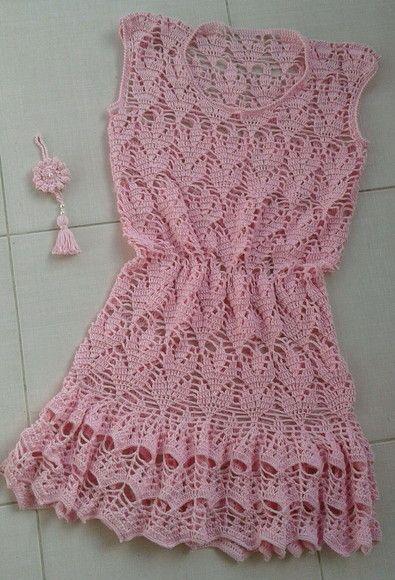 f0d7d9684 Compre Vestido de croche no Elo7 por R$ 295,00   Encontre mais produtos