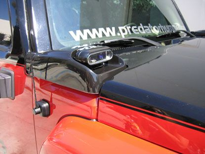 Hummer H3 Light Cowl Set