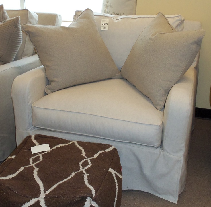 Just Arrived   Robin Bruce Havens Slipcover Chair  Barnett Furniture In  Trussville / Birmingham AL