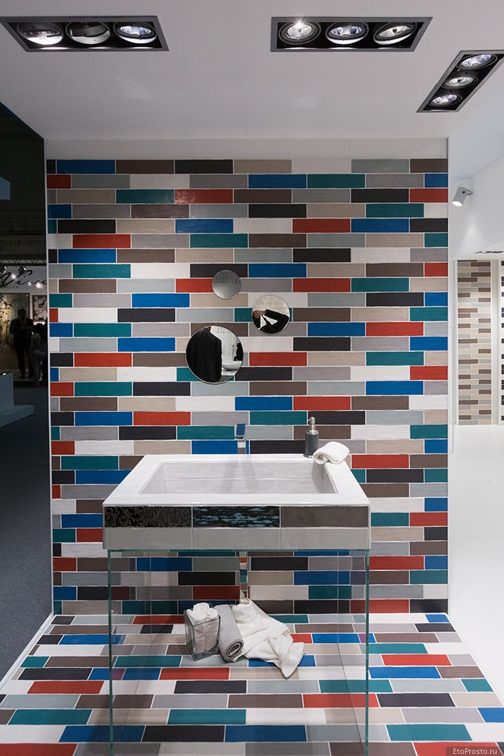 Разноцветная плитка под кирпич от итальянской фабрики Alta