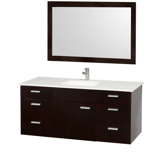 Art Exhibition Special Offers WindBay wall mount floating bathroom vanity sink set Vanities sink Dark Grey In stock u Free Shipping You can save more money