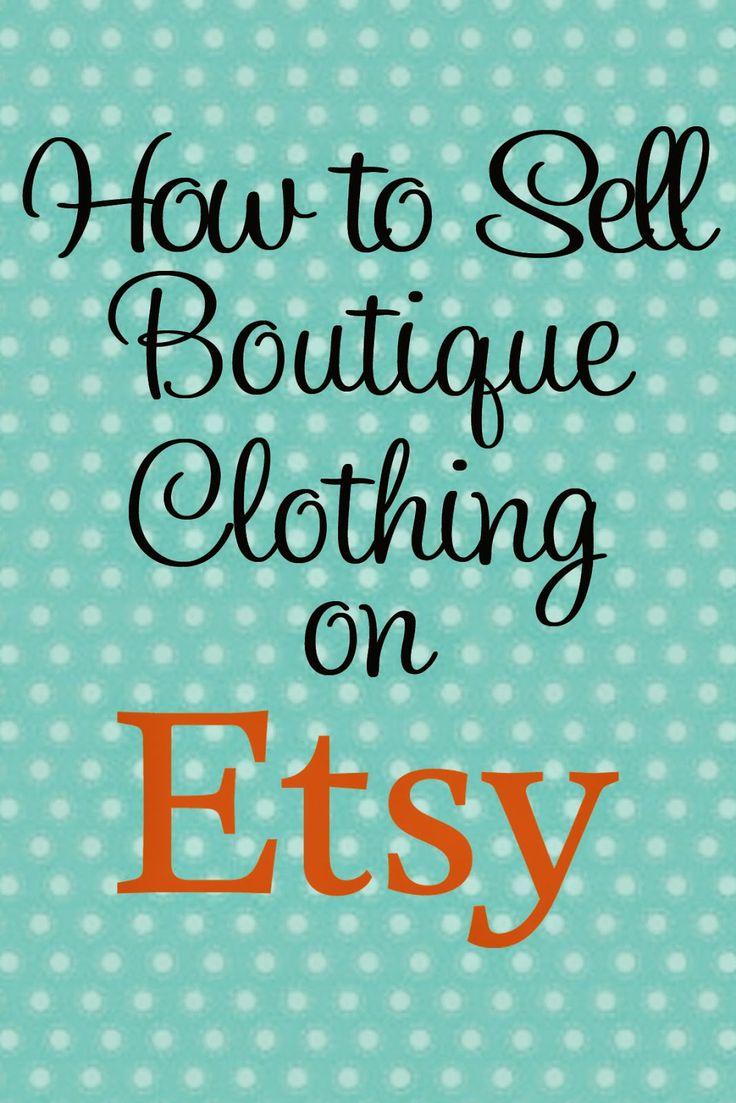 Boutique Basics: Selling on Etsy