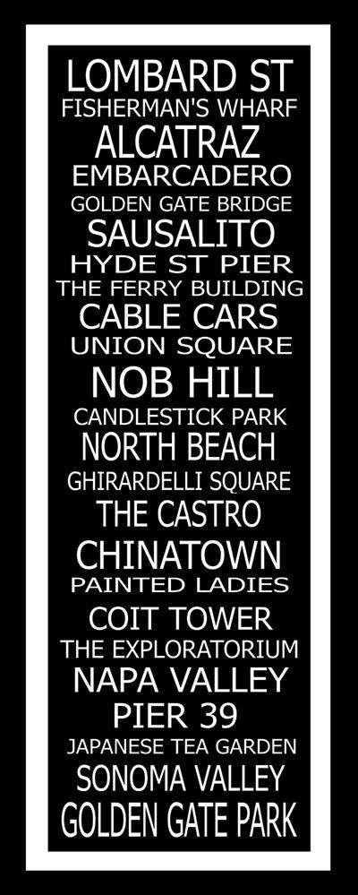 San Francisco Destinations