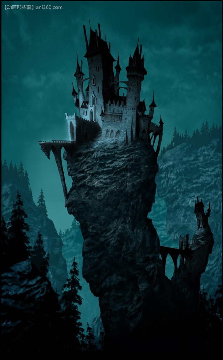 castle concept art by - photo #39