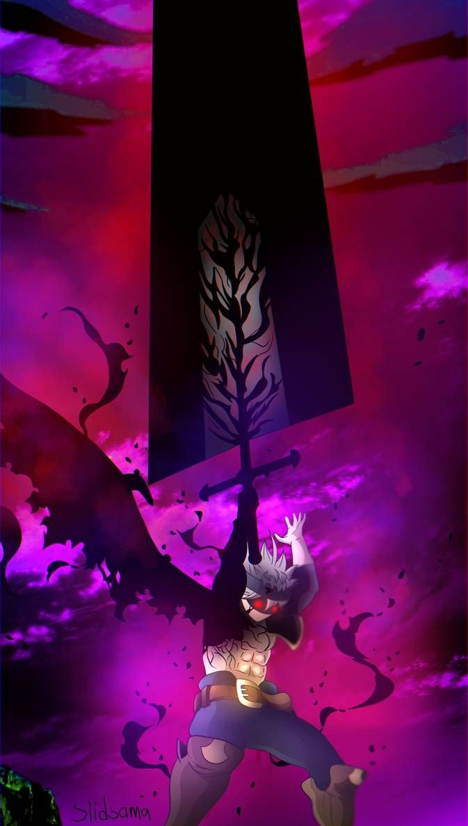 Black Clover 230 Asta Demon By Slidsama On Deviantart Black Clover Manga Black Clover Anime Anime Wallpaper
