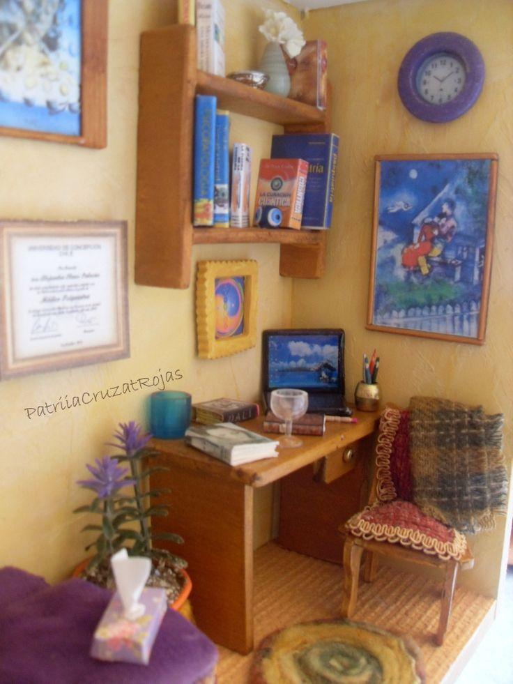 Detalle Sala de Terapia, Consulta medico Psiquiatra y Sanación Cuántica con Miniaturas