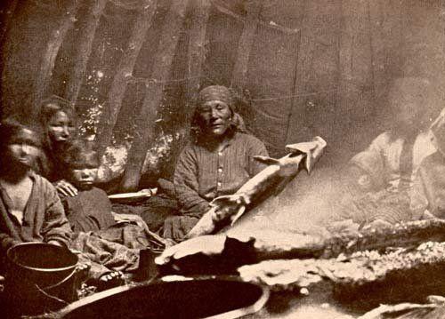 Innu family - 1912