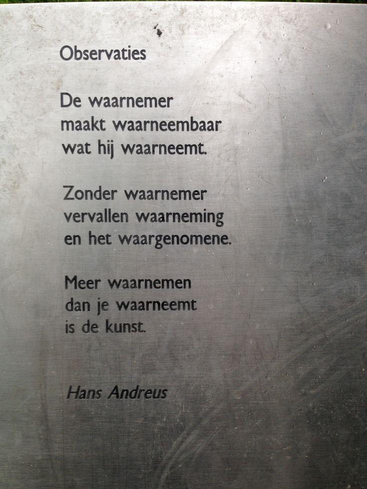 Observaties | Hans Andreus(1926-1977)