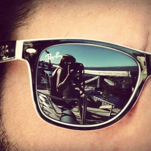 #rayban #glasses #reflection #me #you #happiness