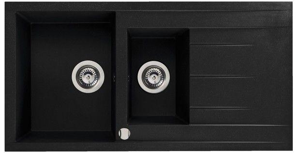 Évier à encastrer SING noir 1,5 cuve / Magasin de Bricolage Brico Dépôt de VERNIOLLE - PAMIERS  95€