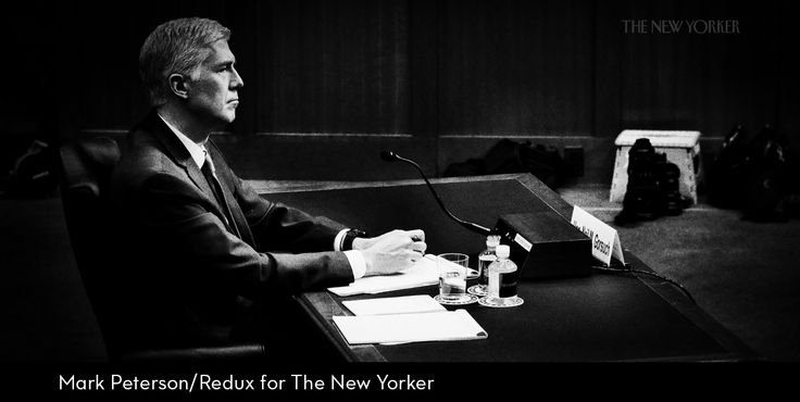 BEHIND NEIL GORSUCH'S NON-ANSWERS    Every sign suggests that he would be at least as conservative a judicial activist as Samuel Alito.