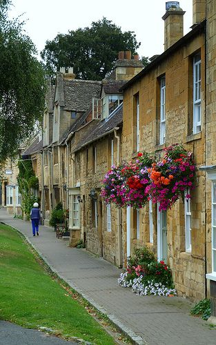 England, Cottages at Chipping Campden