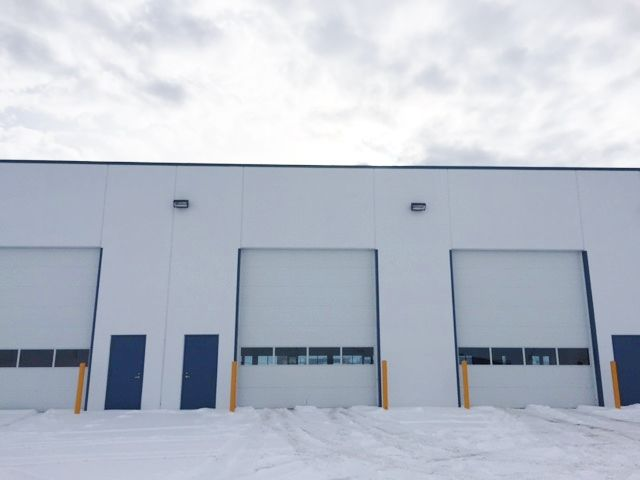 105 10101 118 Street Grande Prairie, AB MLS #L090199 & MLS #L090204  FOR SALE OR FOR LEASE New industrial condo w/ precast concrete walls. 16X14 OH door. Dedicated trailer parking and exceptional yard space. Spacious bay w/ option for mezzanine. Highly visible. L090205. Dale Williams 780-830-1317. $19.50/sq. ft. + Costs. Op.  OR $774,900