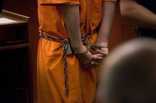 https://flic.kr/p/NhDpko | 13944434449_9c46ca004c_o | Scott Sommerdorf  |  The Salt Lake Tribune              The shackled hands of defendant Matthew Christopher Wall as he appeared in Judge Ann Boyden's court, Sunday, August 19, 2012.  Wall is charged with attempted murder for allegedly stabbing attorney Steven Killpack at his SLC home.