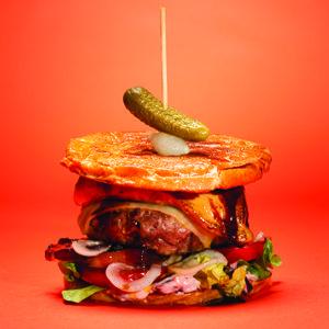 Hamburger Au pied de Cochon #BBQ