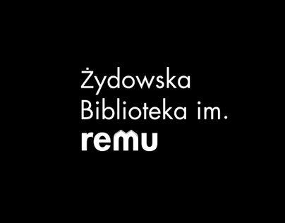 """Check out new work on my @Behance portfolio: """"Żydowska Biblioteka Remu…"""