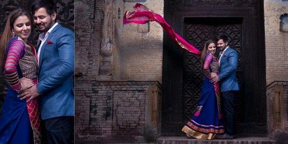 Punjabi Cuople Portraits Maan Jatinder Photography