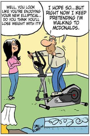 funny picture on elliptical - Google Search