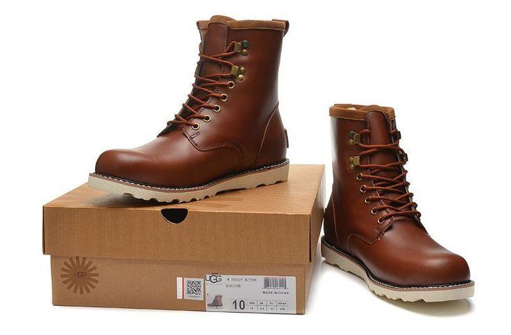 UGG menn mote støvler sjokolade 3240