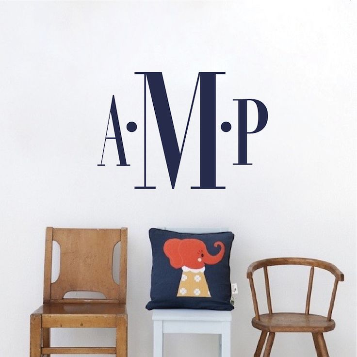 17 best ideas about monogram wall on pinterest