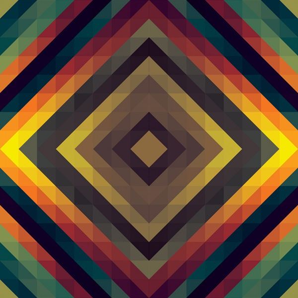 This picture represents pattern. I really like this picture because the dark and light colors go together. It is repeating shapes and colors.