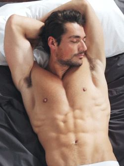 David Gandy, he is one of the most beautiful men i've ever seen. Almost perfect, like Claudia Schiffer.